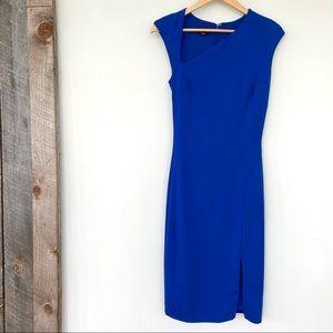 Bebe fitted midi dress